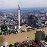 Bangkok Observation Tower to be finished and open to visitors in 3 years