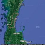 Chumphon placed under heavy rain, flashflood warning